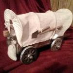 Handmade covered wagon