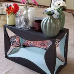 Beautiful handmade accent table