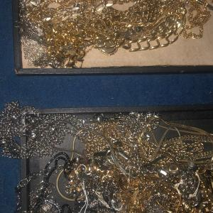 Photo of Old necklaces & bracelets gold & silver color