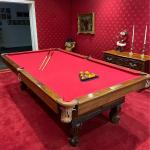 The Burnswick - Blake - Collender Co Monarch Cushion Pool Table