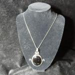 Sterling Onyx Necklace