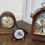 Lot 68. Howard Miller Clock, mantel clock and more