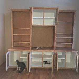 Photo of Large Entertainment Center