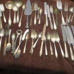 Lot 241 - Stainless & Silver Plated Silverware - Community International Rogers