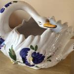 Made in Portugal Jay Willford decorative ceramic swan