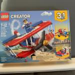 New but retired 3 in 1 stunt biplane. Never out of box.