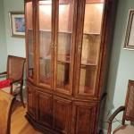 Lighted Ethan Allen China Cabinet