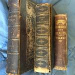 Lot of 3 Antique Rare Books 1853-1874