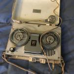 1960s Vintage JULIETTE 4 Transistor Tape Recorder White