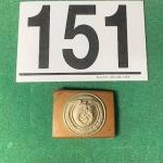 LOT#151B: Nazi Copper Belt Buckle
