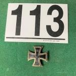 LOT#113B: 1914 WWI Iron Cross