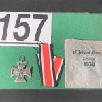 LOT#157B: 1939 Nazi Iron Cross w/ Original Packaging