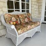 Bar Harbor Wicker Style Love Seat