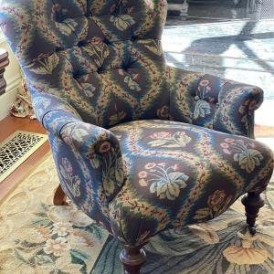 Photo of 18th Century Vintage Antique Arm Chairs (Pair)