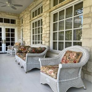 Photo of Bar Harbor Wicker Style Patio Chair