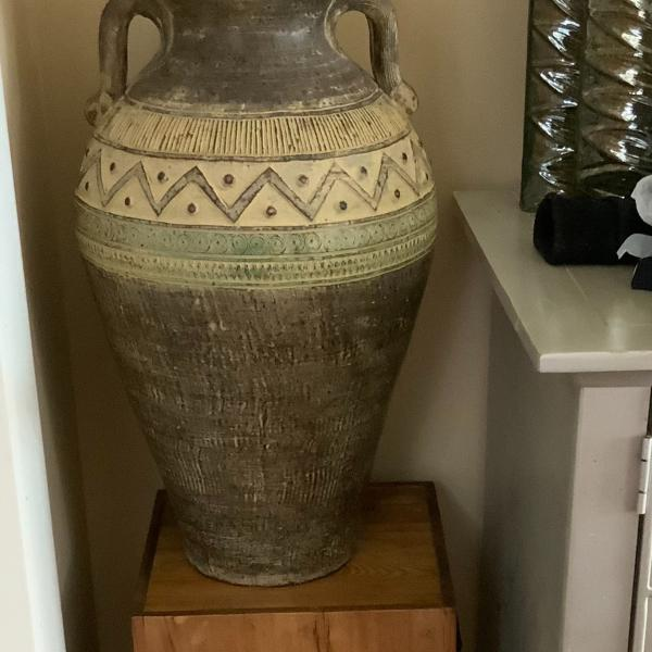 Photo of Large terracotta vase