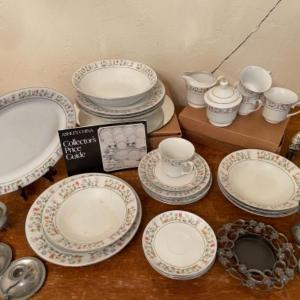 Photo of Lot 122. Service for four Ashley China with platter, serving bowl, salt and pepp