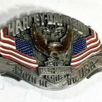 1989 Harley Davidson Pewter Belt Buckle