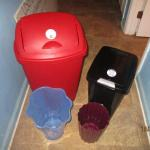 Lot 199 - Collection of Trash Cans LOCAL PICK UP ONLY