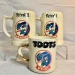 USN VT-21 Redhawks Mug Collection
