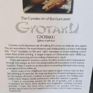 Photo of 2 Gyotaku Art of Burt Lancaster