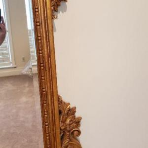 Photo of Large Gold Mirror # 2
