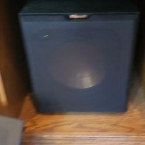 Photo of Speaker Set, 3 Theil Speakers, 1 Klipsch Subwoofer