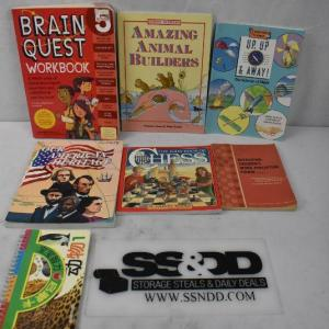 Photo of 7 pc Non-Fiction: Children's Learning/Study Guides