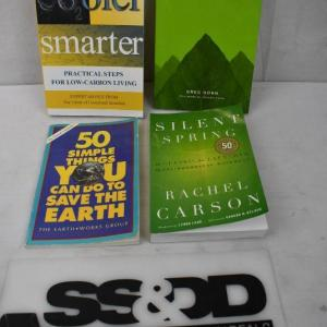 Photo of 4 Non-Fiction Books - Environment Friendly: Cooler 2 Smarter -to- Silent Spring