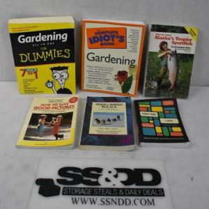Photo of 6 Books, Non-Fiction/DIY: They Say I say -to- Gardening for Dummies