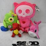 4 pc Stuffed Animal Toys