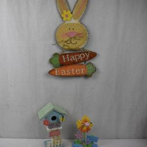 Photo of 3 pc Easter/Spring Decor