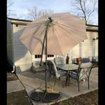 Lot OS 6: Large Patio Umbrella