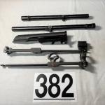 LOT#382 Weaver Scopes & Scope Mounts
