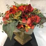 Artificial Flowers in Pottery Planter