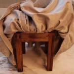 Wood Makeup Chair