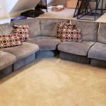 Large Gray Sectional Sofa Set
