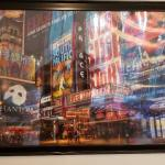 NY Framed Picture Art