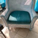Big mans wicker chair