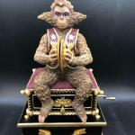 Phantom of the Opera Wind Up Music Box Monkey with Cymbals