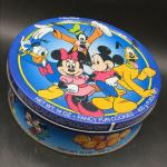Vintage Walt Disney Mickey & Friends Cookie Tin YD#020-1220-00357