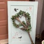 Art door shabby chic