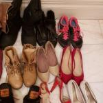 Mixed Shoe Lot, Sizes 8/9
