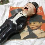 Charlie McCarthy doll & book