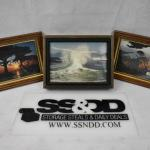 3 Framed Images Ocean/Nature 5x7 each