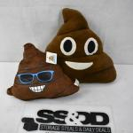2 Poop Pillow Toys