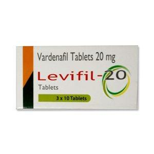 Photo of Buy Levifil 20mg Vardenafil Tablets at Wholesale Price in USA - Levitra Tablets