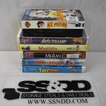 7 Movies on VHS: Ace Ventura -to- Toy Story