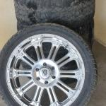 "Lot 75 XD Series 22"" Rims w/ Tires KMC"