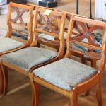 Lot 69 5 Antique Dining Chairs
